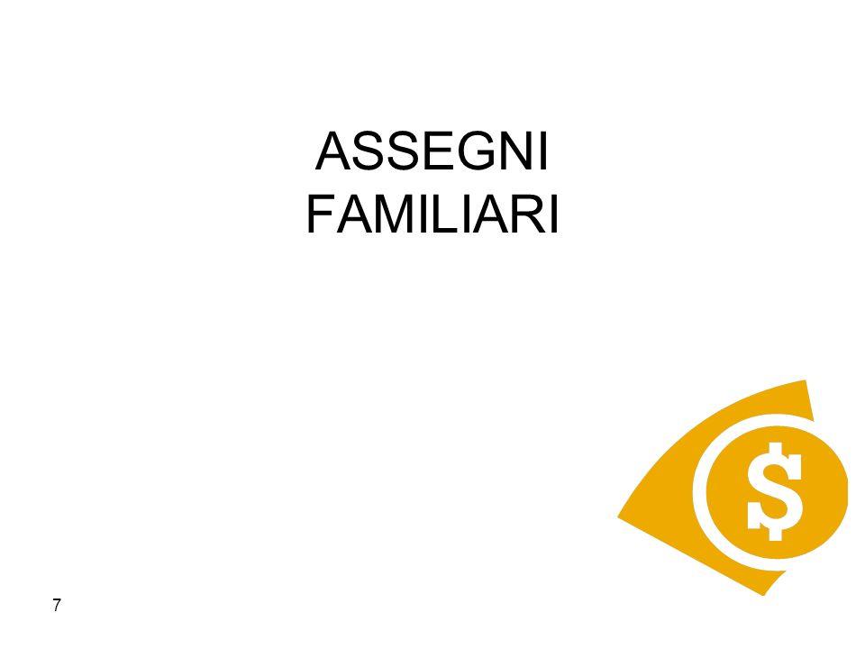 ASSEGNI FAMILIARI 7