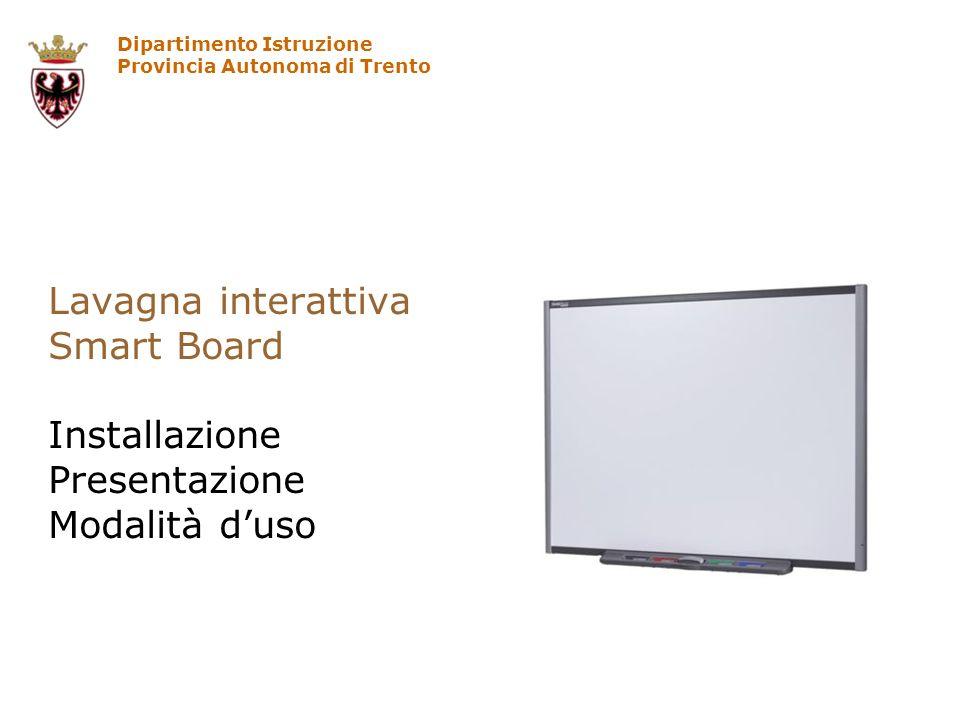 Lavagna interattiva Smart Board Installazione Presentazione