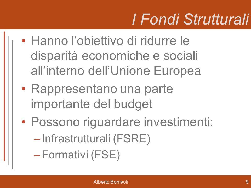 I Fondi Strutturali Hanno l'obiettivo di ridurre le disparità economiche e sociali all'interno dell'Unione Europea.