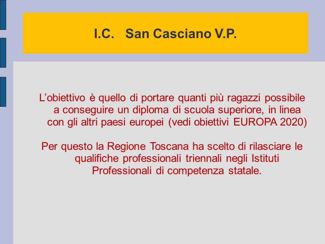 I.C. San Casciano V.P.