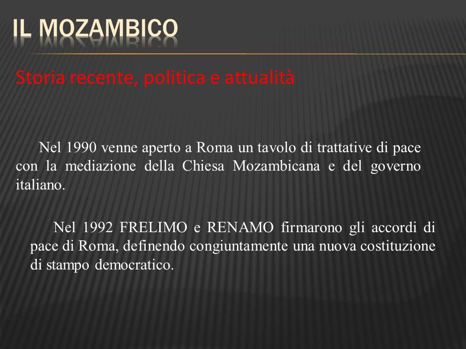 Il Mozambico Storia recente, politica e attualità