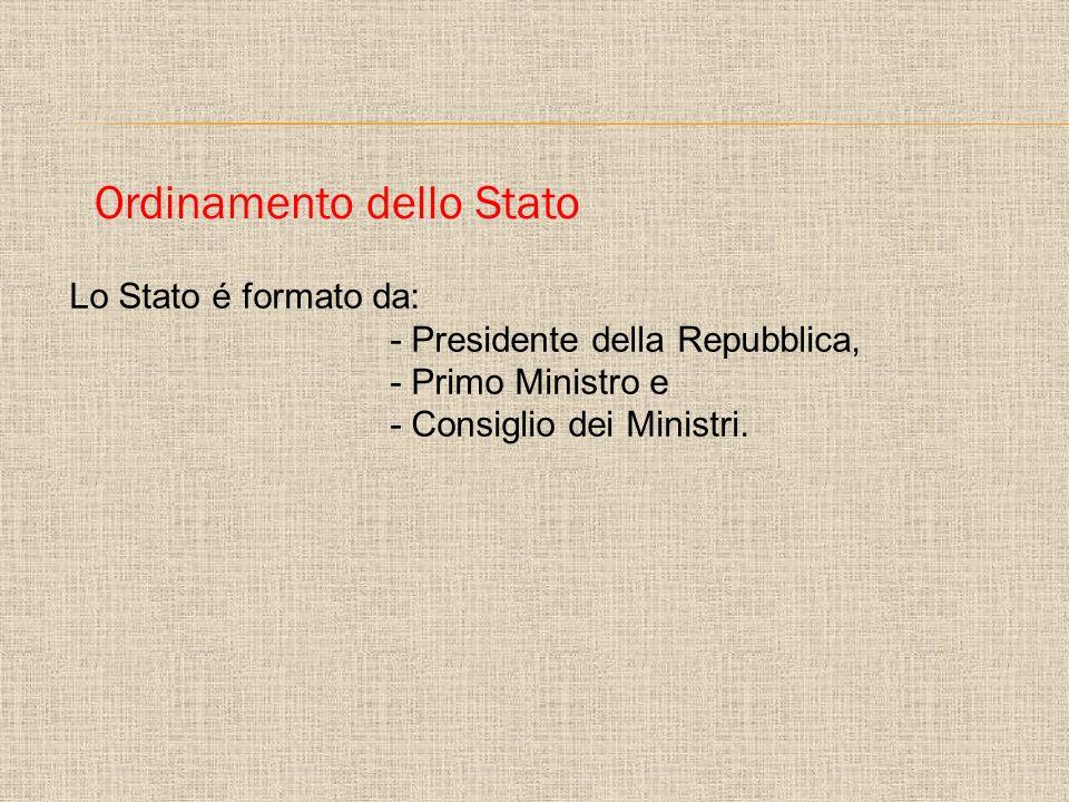 Ordinamento dello Stato