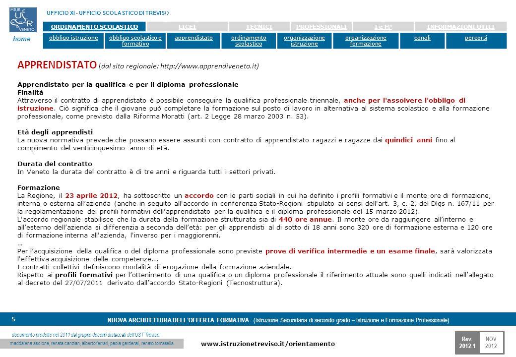 APPRENDISTATO (dal sito regionale: http://www.apprendiveneto.it)