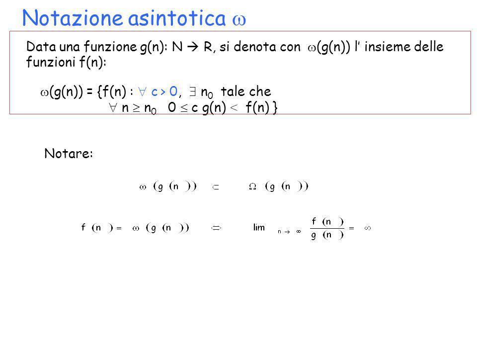 Notazione asintotica 