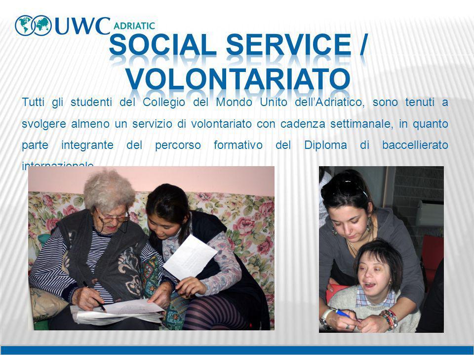 SOCIAL SERVICE / VOLONTARIATO
