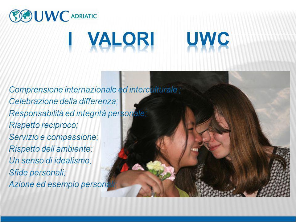 I VALORI UWC
