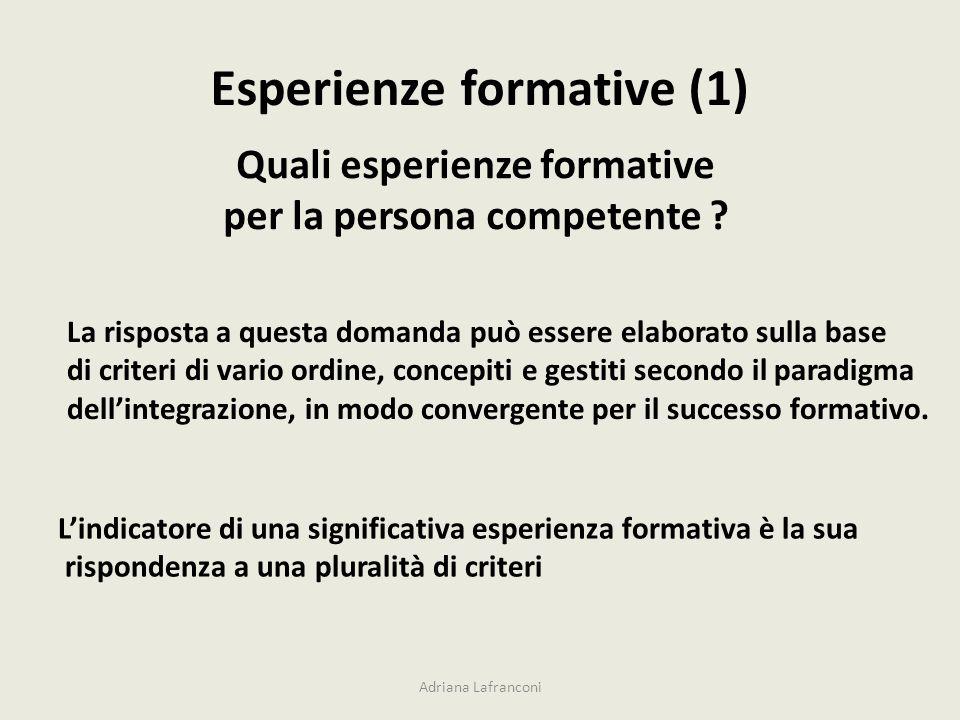 Esperienze formative (1)