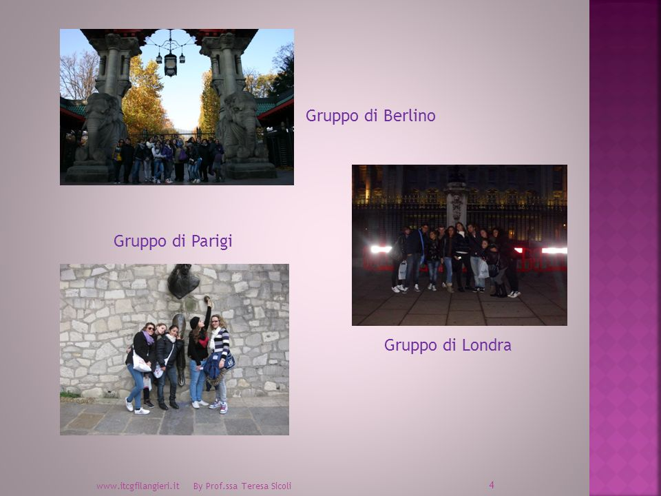 Gruppo di Berlino Gruppo di Parigi Gruppo di Londra