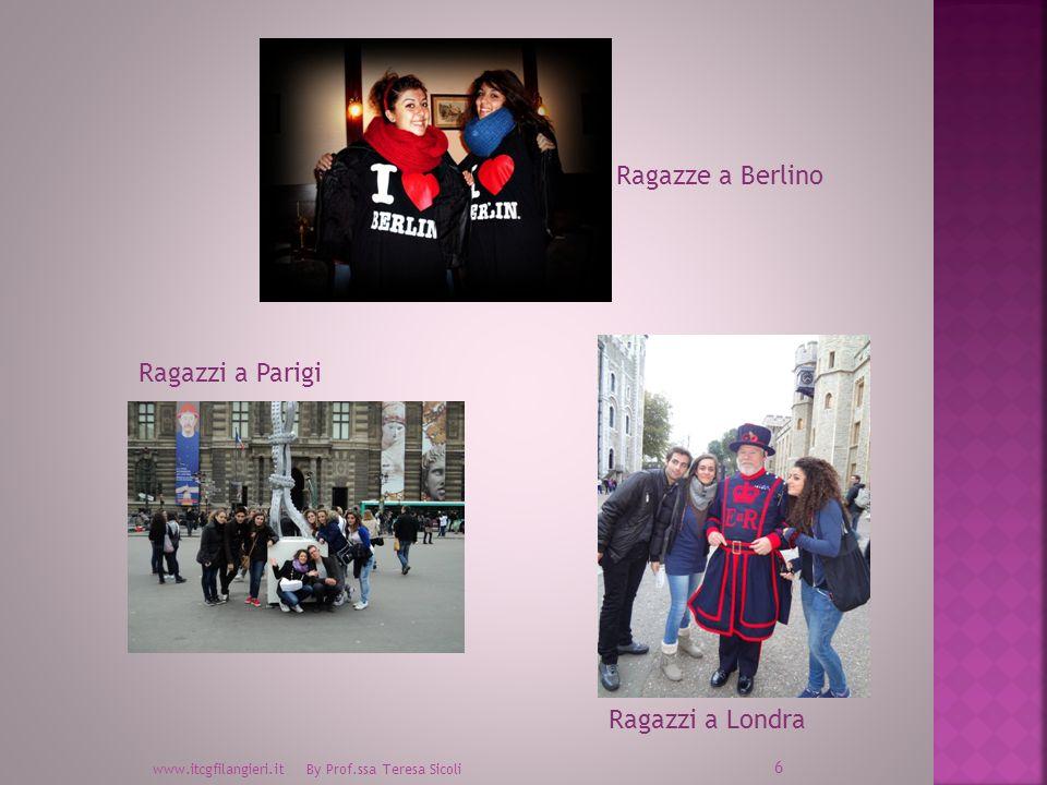 Ragazze a Berlino Ragazzi a Parigi Ragazzi a Londra
