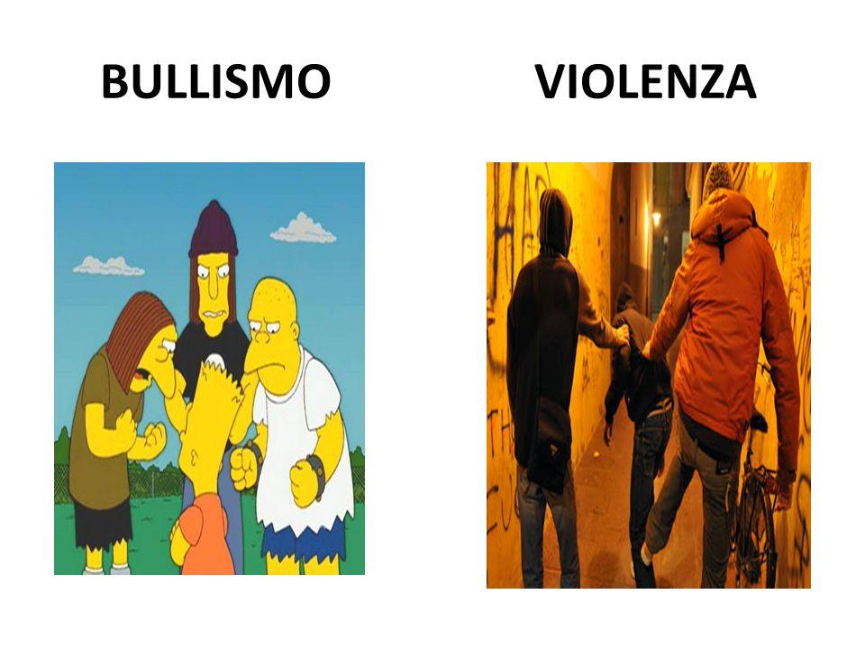BULLISMO VIOLENZA