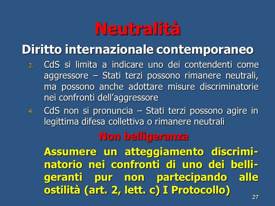 Diritto internazionale contemporaneo