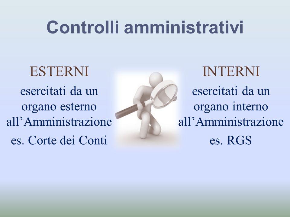 Controlli amministrativi