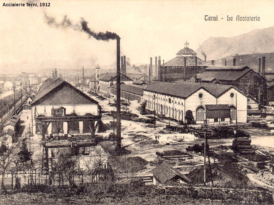 Acciaierie Terni, 1912