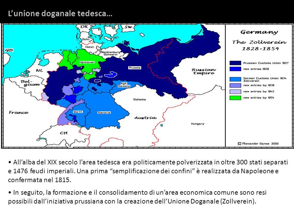 L'unione doganale tedesca…