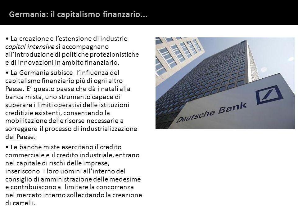 Germania: il capitalismo finanzario...