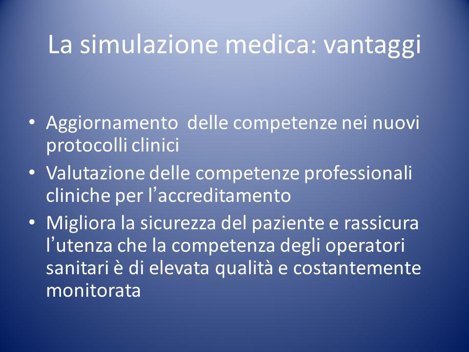 La simulazione medica: vantaggi