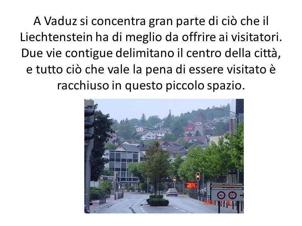 A Vaduz si concentra gran parte di ciò che il Liechtenstein ha di meglio da offrire ai visitatori.