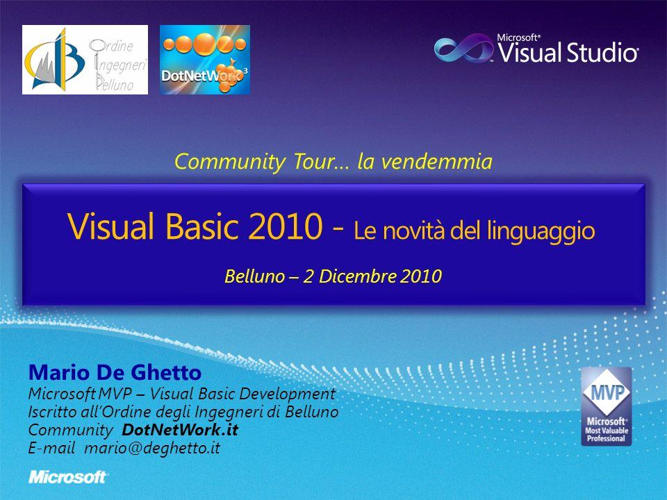 Visual Basic 2010 - Le novità del linguaggio