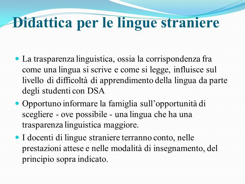 Didattica per le lingue straniere