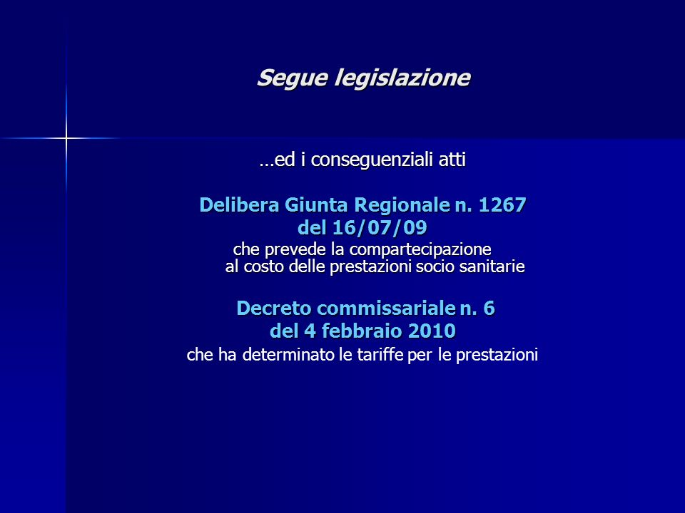 Delibera Giunta Regionale n. 1267