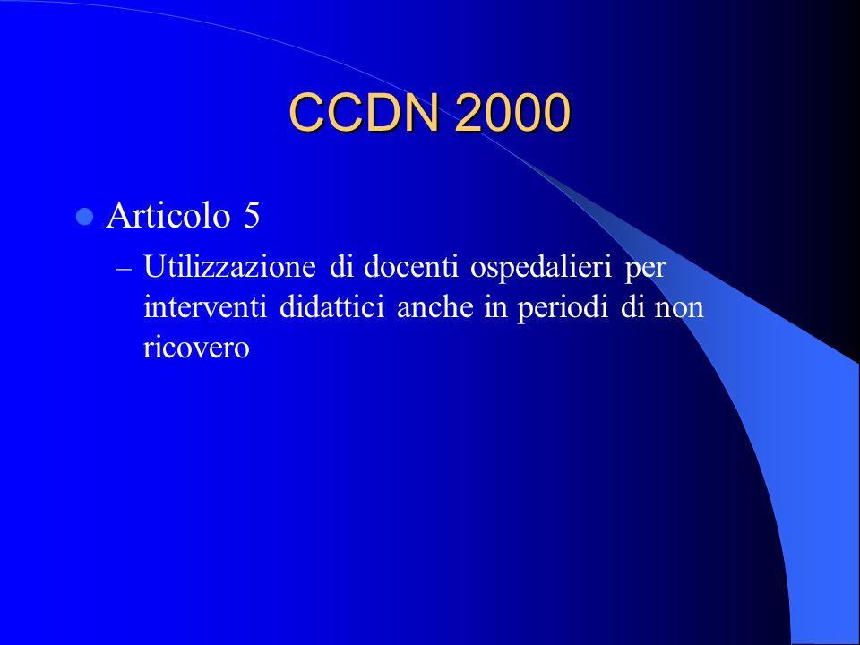 CCDN 2000 Articolo 5.