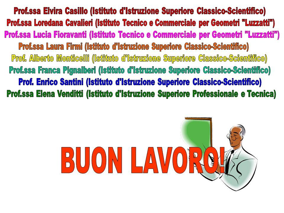 Prof.ssa Elvira Casillo (Istituto d Istruzione Superiore Classico-Scientifico)