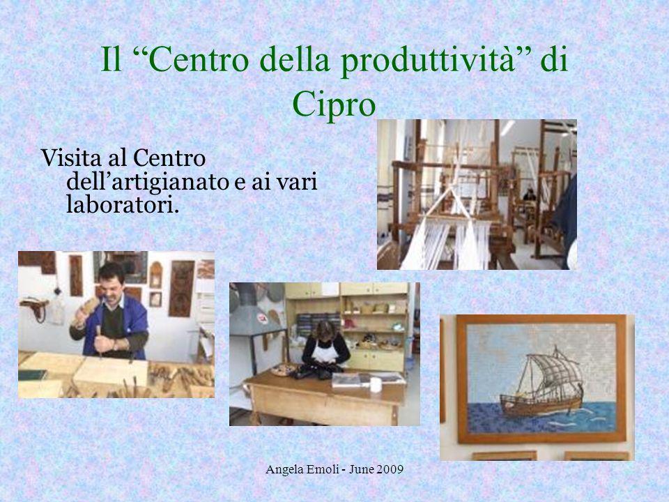 Il Centro della produttività di Cipro