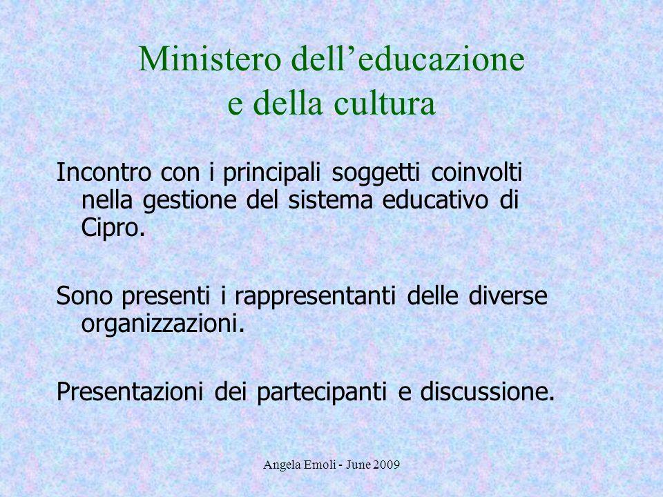 Ministero dell'educazione e della cultura
