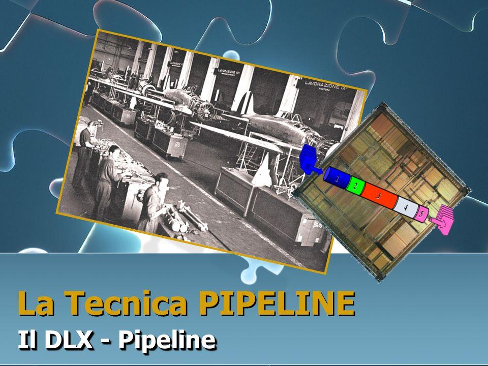 La Tecnica PIPELINE Il DLX - Pipeline