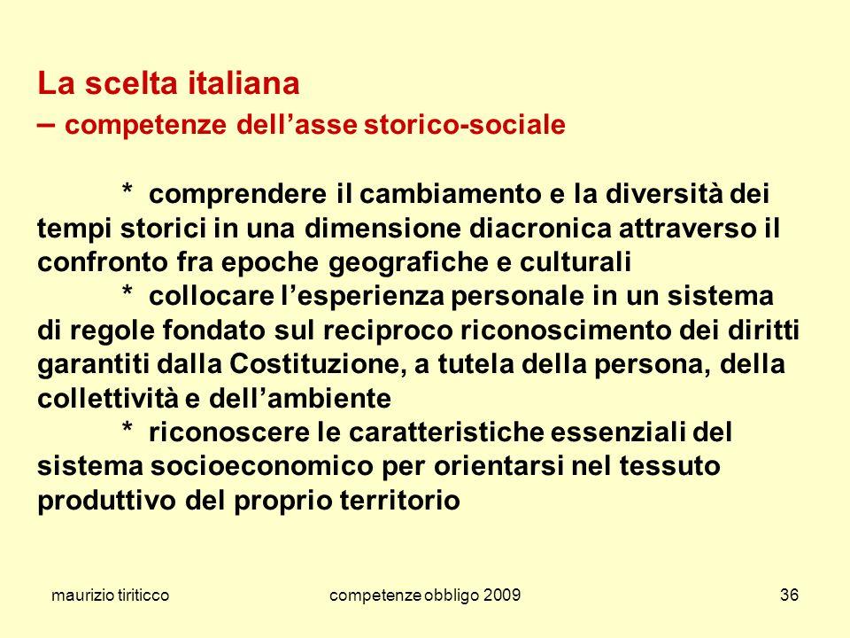 La scelta italiana
