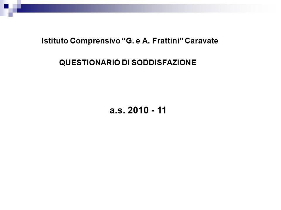 a.s. 2010 - 11 Istituto Comprensivo G. e A. Frattini Caravate