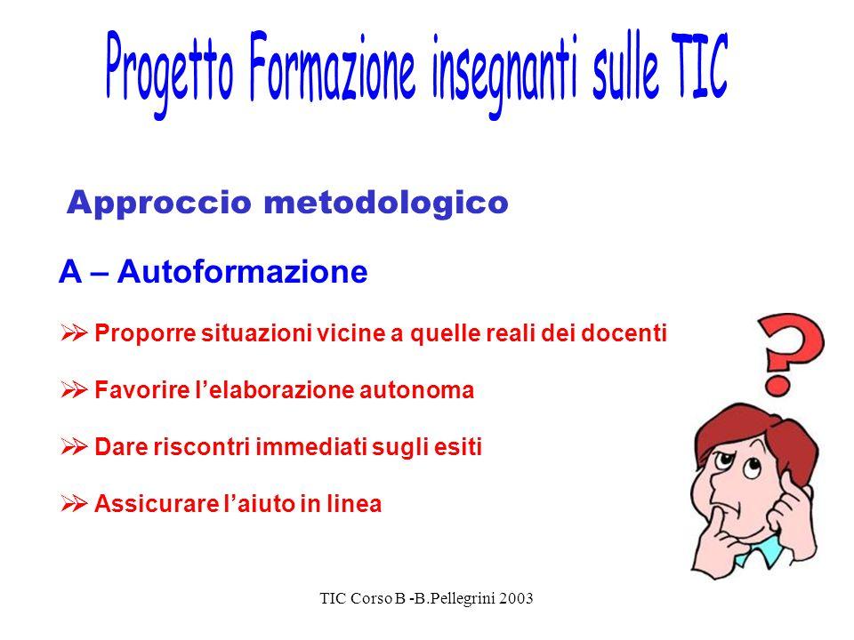 Progetto Formazione insegnanti sulle TIC