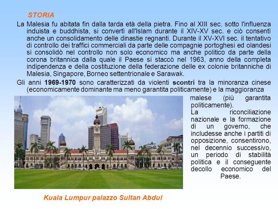 Kuala Lumpur palazzo Sultan Abdul