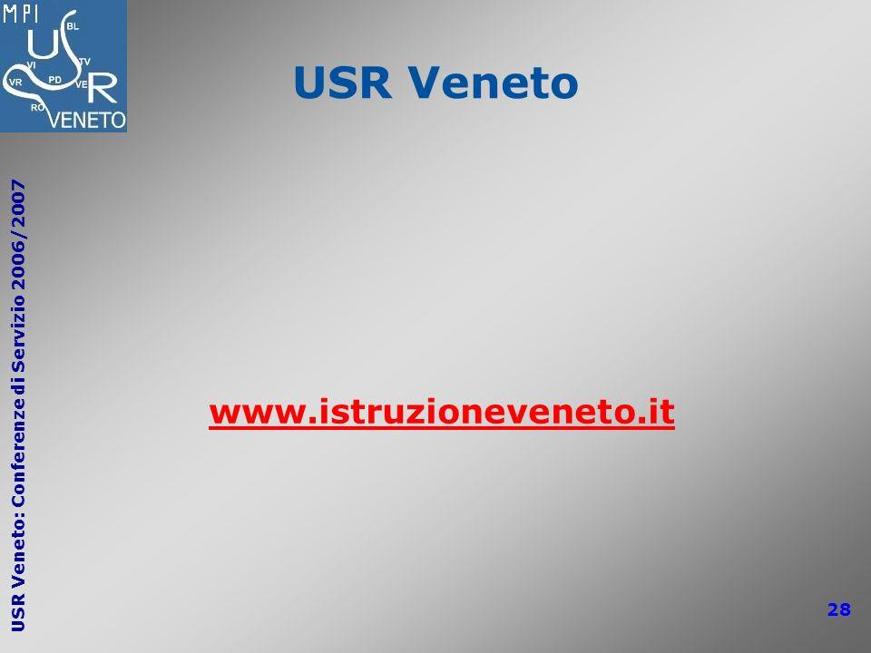 USR Veneto www.istruzioneveneto.it
