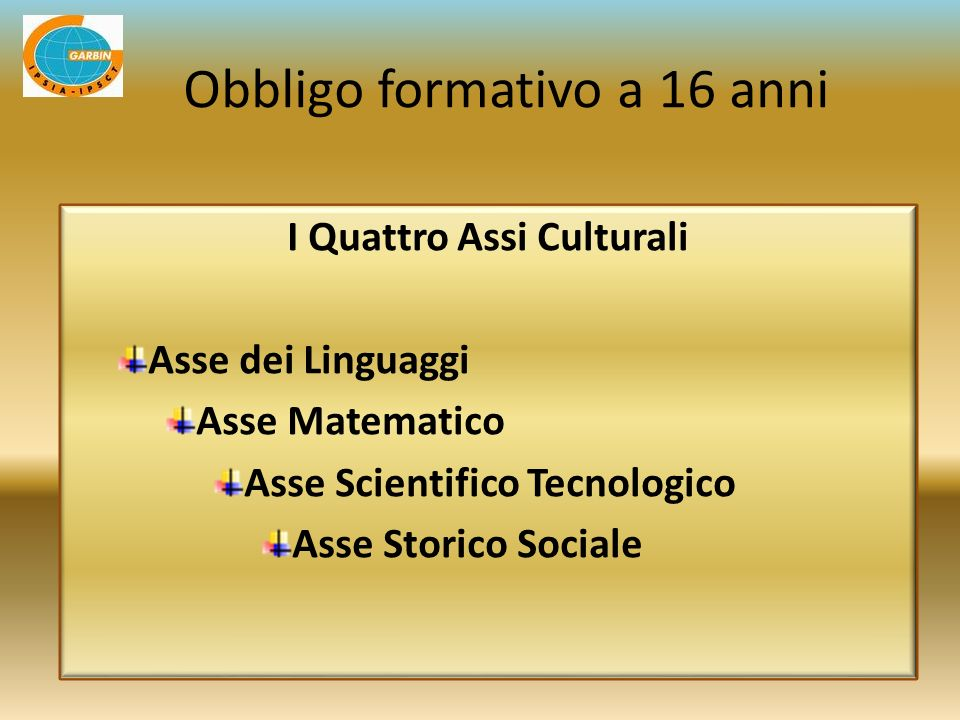 I Quattro Assi Culturali