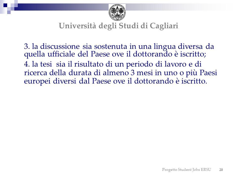 dottorato dottorato Università degli Studi di Cagliari