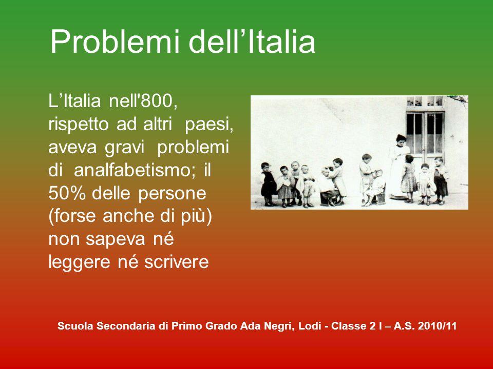 Problemi dell'Italia