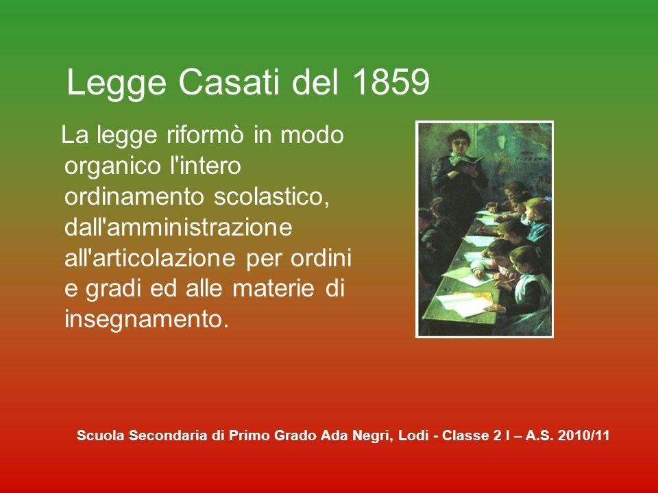 Legge Casati del 1859