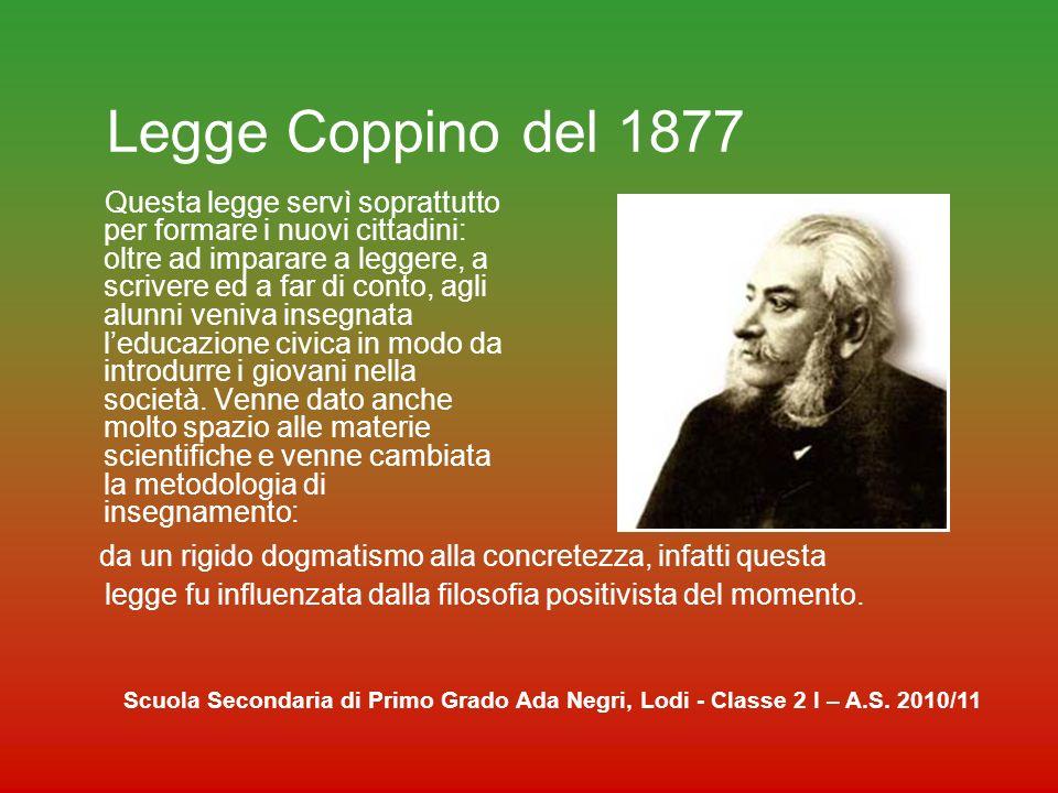 Legge Coppino del 1877