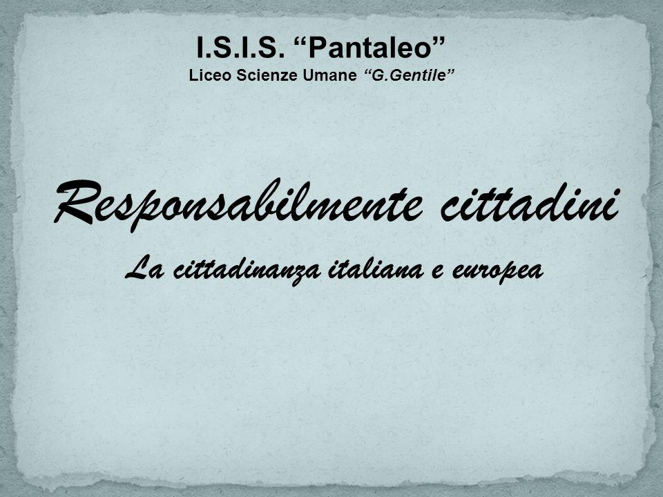 La cittadinanza italiana e europea