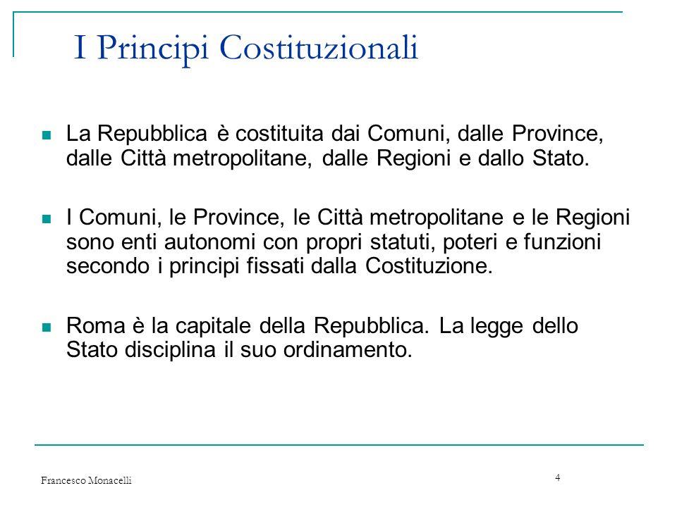 I Principi Costituzionali