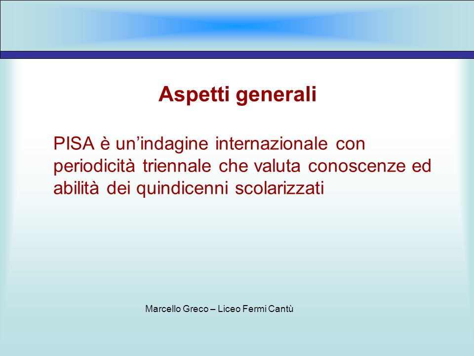 Marcello Greco – Liceo Fermi Cantù