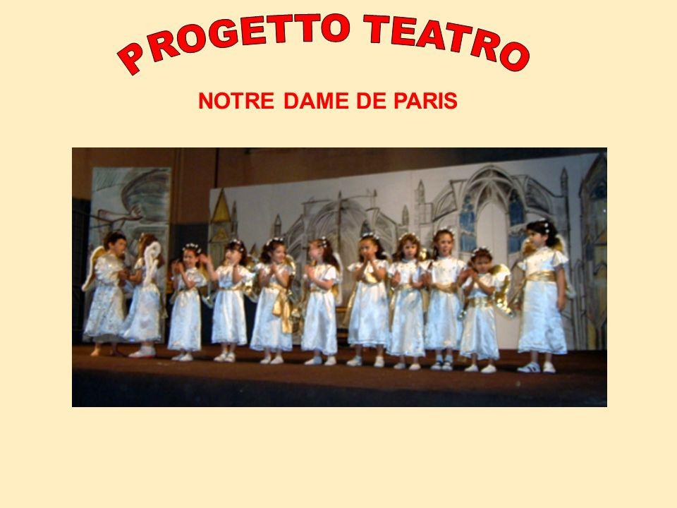 PROGETTO TEATRO NOTRE DAME DE PARIS