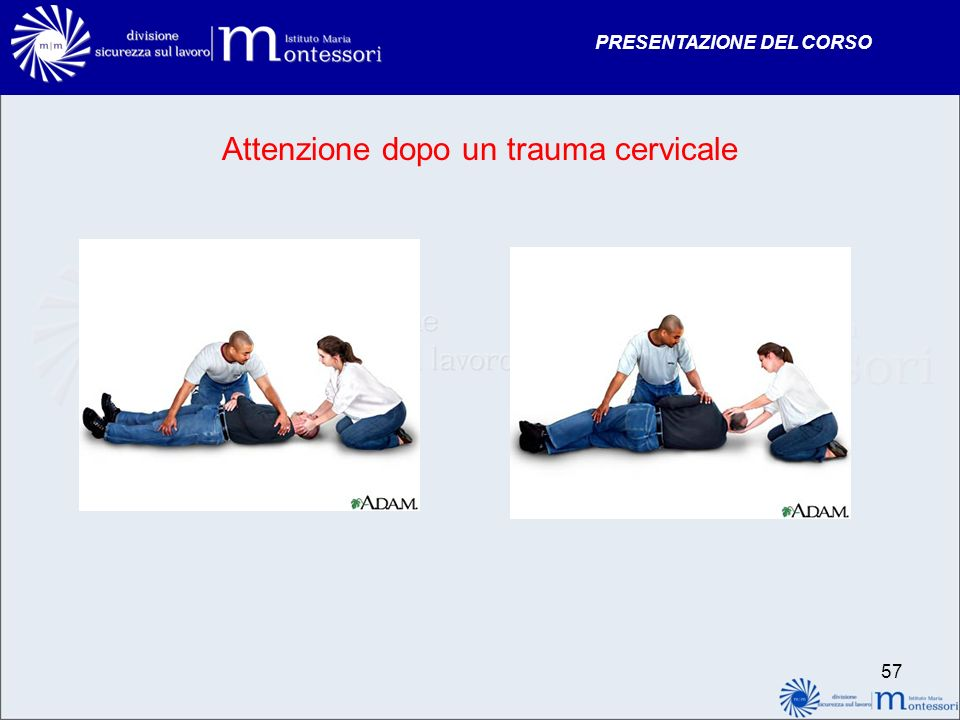 Attenzione dopo un trauma cervicale