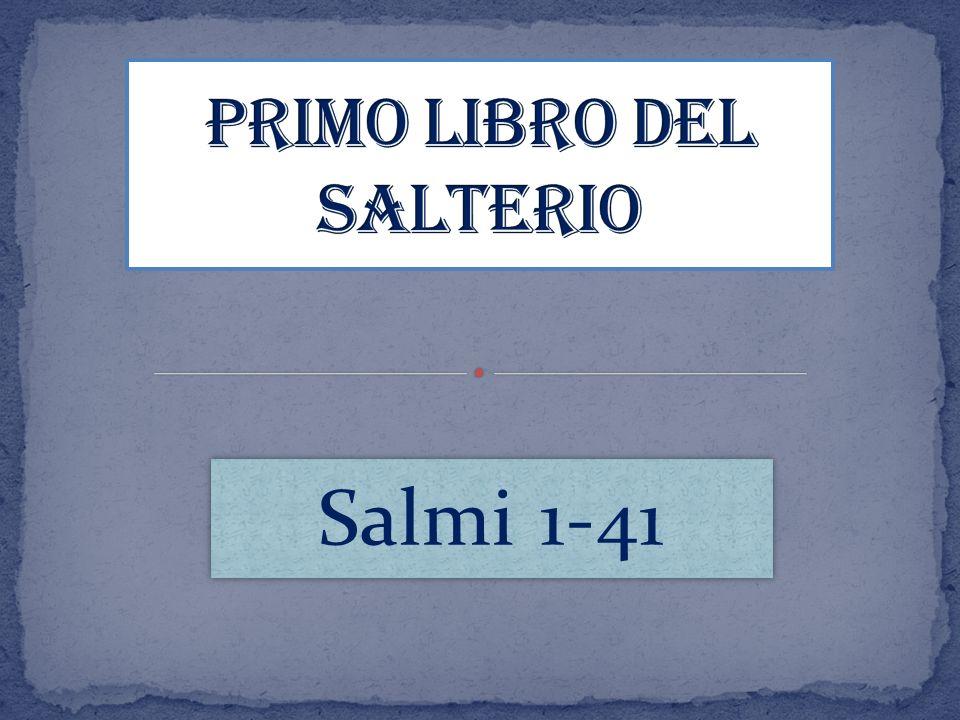 Primo Libro del Salterio