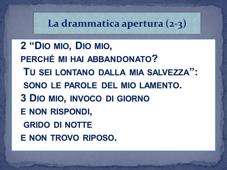 La drammatica apertura (2-3)