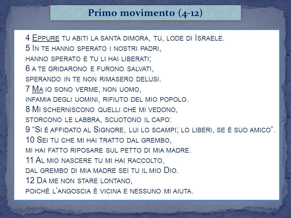 Primo movimento (4-12)