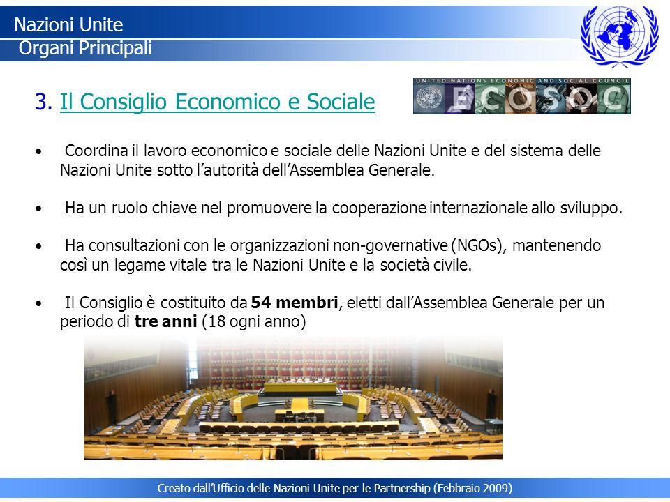 Il Consiglio Economico e Sociale