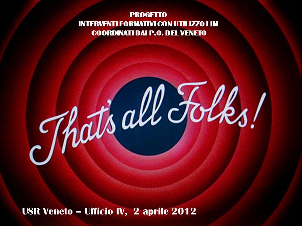 USR Veneto – Ufficio IV, 2 aprile 2012