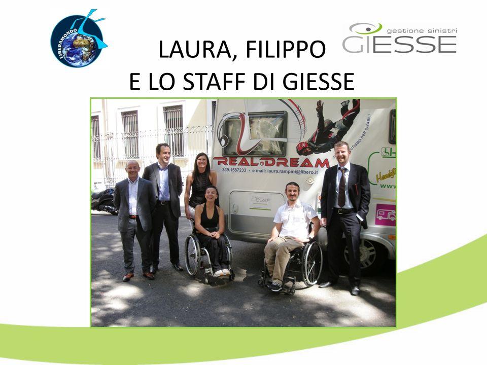 LAURA, FILIPPO E LO STAFF DI GIESSE